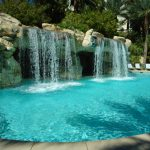 How to Use Contrast to Liven Up Your Pool Area